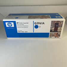 NEW Genuine HP Q3961A Color LaserJet Print Cyan Cartridge 2550 2820 2840 IN BOX