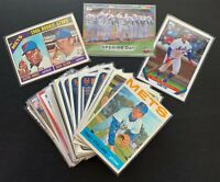 NEW YORK METS Collector Series:1964-2020 Mets History:69WS, Seaver, Alonso,Topps