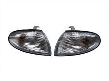 Pair Front Bumper Corner Light Lamp For Hyundai Accent 1998-1999