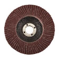 Genuine Silverline Aluminium Oxide Flap Disc 100mm 80 Grit   783102