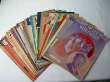 Lot of 31 Vintage SHEET MUSIC 1927 to 1948