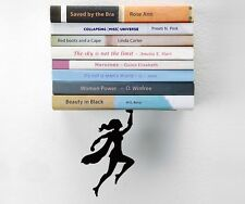 shelf Decor Bookend Book Ends Gifta Funky Original Design Supergal superheroes
