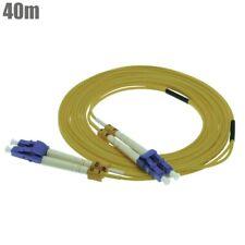 50M LC-LC DUPLEX 10 GIGABIT 50//125 MULTIMODE FIBER OPTIC CABLE OM3 10GB-9330