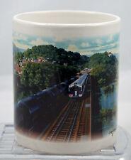 J Craig Thorpe UTLX Train on Bridge Mural 12 oz Mug r41