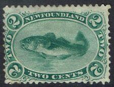 NEWFOUNDLAND 1865 FISH 2C