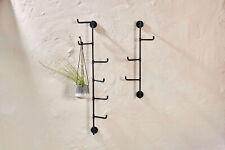 Nkuku Aniko Wall Mounted Hooks 3 or 6 Flexible Hooks on Bar