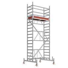 Layher Fahrgerüst Zifa 624 faltbar Alu | Rollrüstung | Rollgerüst | Gerüst