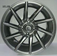 15 Inch Alloy wheels for skoda citigo set of 4 wheels hyper black