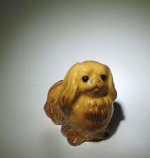 Hagen Renaker Vintage Porcelain dog Peke Lovely Pekingese dog looking up! Cute!