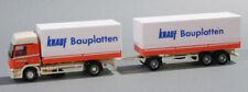 Herpa 150118 MB Actros L Planenhängerzug Tatschl / Knauf Bauplatten