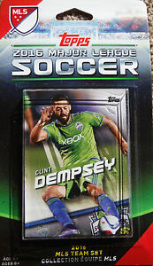 Seattle Sounders FC 2016 Topps MLS Factory Sealed 7 Card Team Set Clint Dempsey