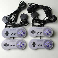 Lot of 4: Super nintendo SNES Controllers - GENUINE AUTHENTIC TESTED