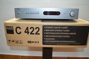Sintonizador Nad C422 RDS en perfecto estado con manual y embalaje original