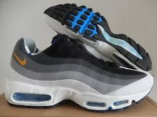 NIKE AIR MAX 95 LONDON QS BLACK-DARK GOLD-GREY SZ 11.5 [586361-070]