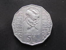 1995 Weary Dunlop 50 cent coin