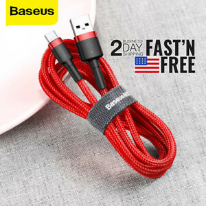 Baseus - Extra Long 10Ft - USB to Type-C 2A Charging Cable