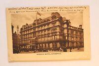 Großbritannien England UK AK Liverpool 1915-1930 Adelphi Hotel Street Cars House