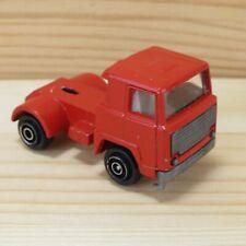 RED CAB FOR FLATBED TRUCK - VINTAGE PLAYART 1:64 DIE-CAST CAR - HONG KONG