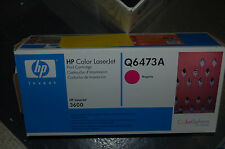Genuine HP Q6473A MAGENTA 502A Toner Cartridge 3600 Series *Open Box*