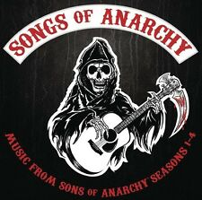SONGS OF ANARCHY: MUSIC FROM SONS OF ANARCHY SEASONS 1-4  (CD)  SOUNDTRACK  NEW+