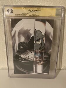 TMNT The Last Ronin 1 CGC 9.8 Signed and Sketched By Mico Suayan 90s Shredder!