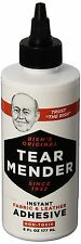 Tear Mender Bish's 6-Ounce Original Tear Mender Instant Fabric and Leather Ad.
