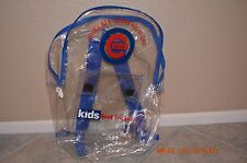 1999 ALL STAR KIDS DAY CUBS/FOOT LOCKER PLASTIC BACKPACK