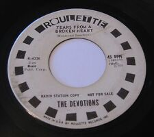 THE DEVOTIONS A Sunday Kind Of Love 45 PROMO Radio Station Copy ROULETTE 4556