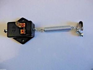 gerade universal f/ür Fantic Motor Regolarita Casa 50 AM6 06 Bremslichtschalter f/ür Fu/ßbremse 12mm