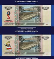 RUSSIA SET 8 UNC AIRCRAFT AVIATION 2015 COMM COLLECTION