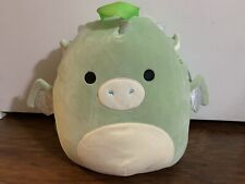 Squishmallows Drew Green Dragon Backpack Back Pack 12 Inch NWT Squishmallow 🔥🐉