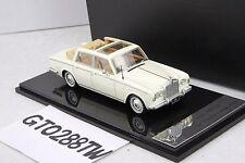 HandMade Model 1:43 scale Rolls-Royce 1966 Silver Shadow Landaulette (White)