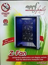 Zanzariera elettronica con doppia ventola Z-Fan Melchioni cod.158630005