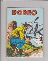 RODEO n°291 - Novembre 1975. Aventures de Tex. Etat neuf