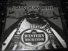 """DAYS OF WORTH """" THE WESTERN MECHANISM """" PROMO CD ALBUM 2005 EXCELLENT"""