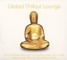 GLOBAL CHILLOUT LOUNGE - Self-Titled (2006) - 5 CD - Box Set - **SEALED/ NEW**