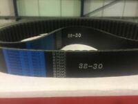 Milling Machine Part - Bridgeport Bando VS Variable Speed Drive Belt 875VC3830