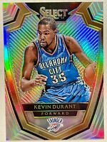 KEVIN DURANT 2014-15 Panini Select Premier Base Silver Prizm MINT RARE HOT🔥