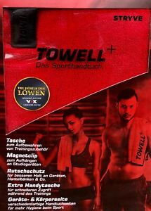 Towell Sporthandtuch Baumwolle Tasche Stryve Fitness Gym Multifunktional