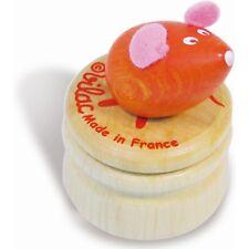 Boîte à dents de lait souris Vilac, Teeth box mouse, Holz Milchzahndose Mause