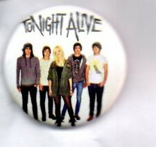 TONIGHT ALIVE - AUSTRALIAN ROCK BAND BUTTON BADGE - LONELY GIRL - SAFE & SOUND