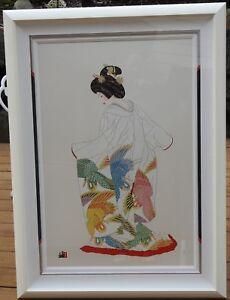 Hisashi Otsuka - Flight of Fantasy Limited Edition # 06/100 Signed Framed COA