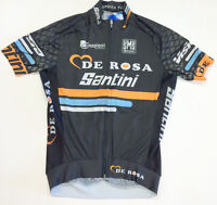 2015 De Rosa Sleek Plus Aero Cycling Jersey Made in Italy by Santini