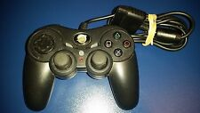 PELICAN BLACK WIRED PRECISION MODEL PL-6688 CONTROLLER SONY PLAYSTATION 2 PS2 VG