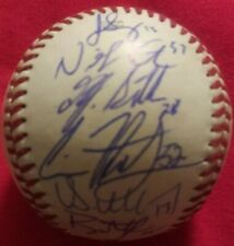 2019 STATEN ISLAND YANKEES TEAM SIGNED OMiLB BASEBALL GU NYPL Autos