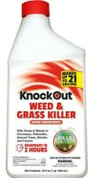 2x Weed and Grass Killer  MAKE 42 GALLONS Knockout 1/2 gallon Super Concentrate