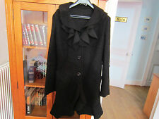 beau manteau noir,taille  L