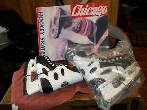 """CHICAGO ICE HOCKEY SKATES  Size 8 U.S. Size 41 Euro """"Never Used"""""""