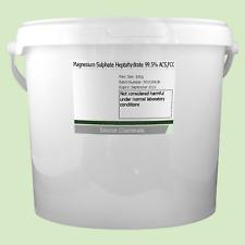 Sulfato de magnesio heptahidratado sales de Epsom 99.5% () 10Kg