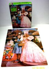 WIZARD OF OZ PUZZLE Dorothy Toto Glinda Munchkins 100 Pcs Jigsaw Golden-Complete